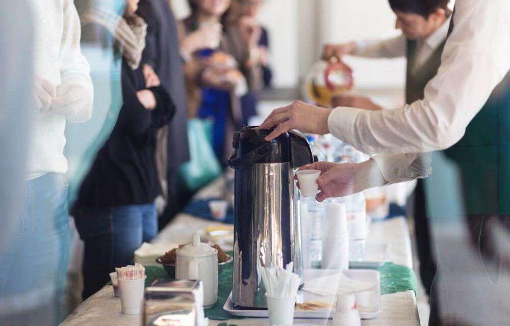 Qual é a importância do coffee break para o sucesso de seu negócio?
